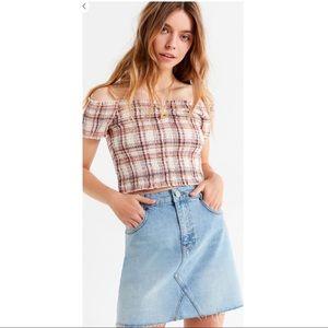 BDG Denim Skirt Urban Outfitters
